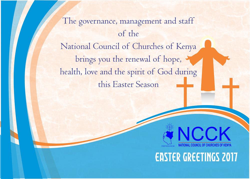 NCCK Easter Greetings 2017